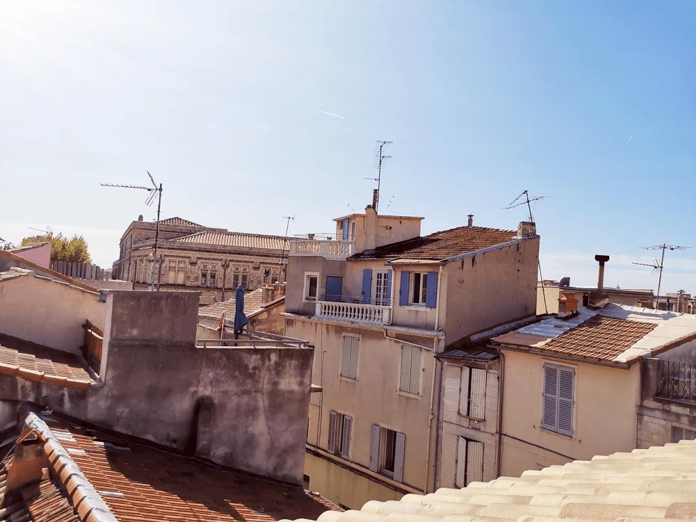 MySofa French Cuisine vue sur les toits d'Avignon