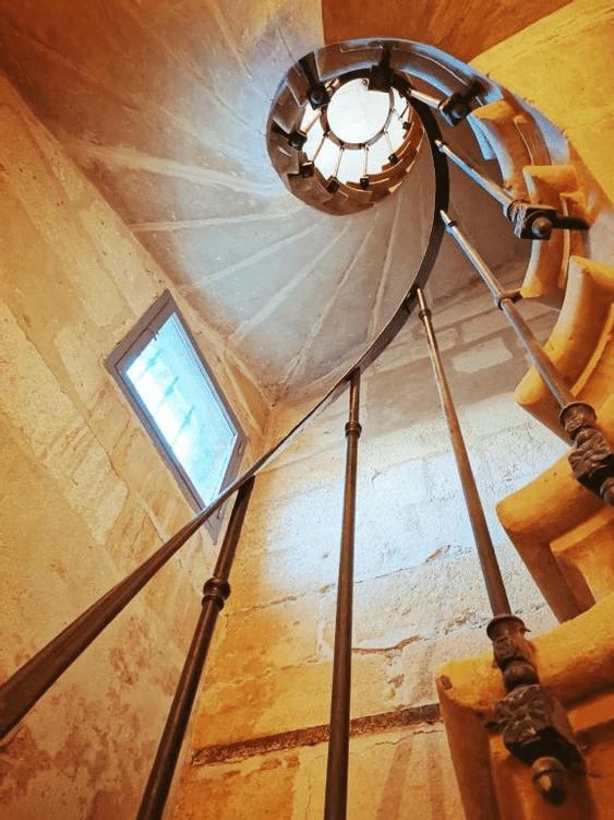 MySofa vintage 50s escalier acces
