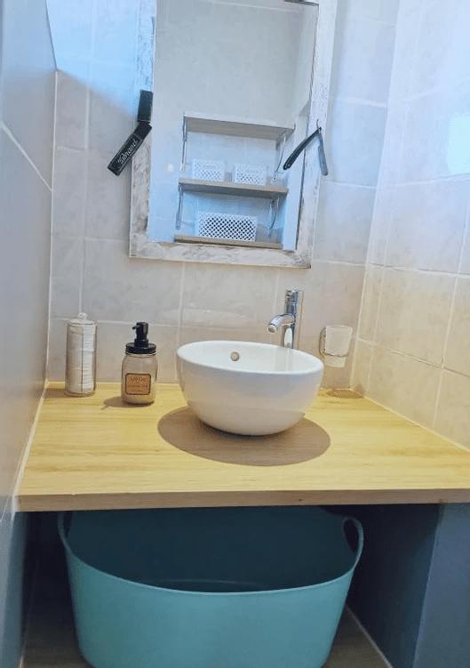 MySofa vintage 50s vasque de la salle eau