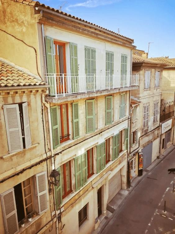 MySofa vintage 50s vue sur la rue