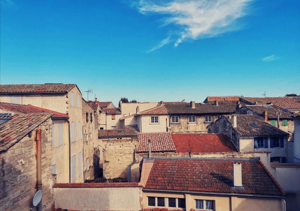 MySofa vintage 50s vue sur les toits