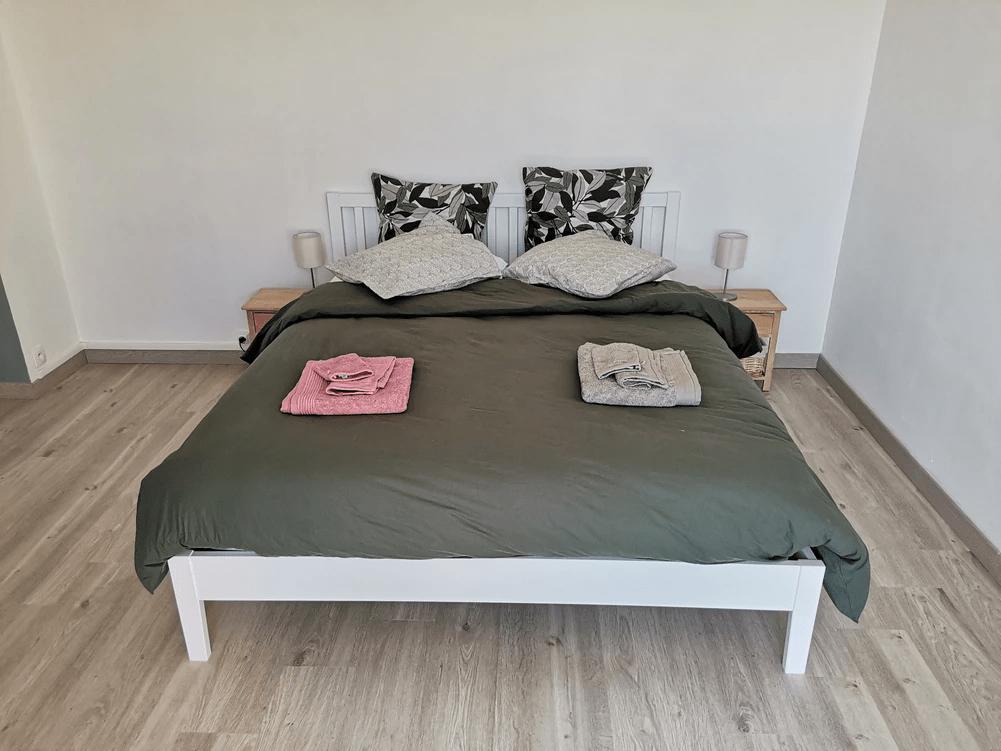 MySofa'mily chambre avec literie de qualité hoteliere