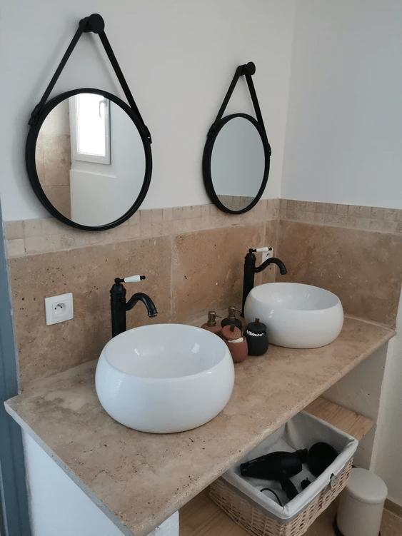 MySofa'mily salle de bain avec doubles vasques